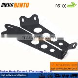 "New launched!For 07-15 Jeep JK Wrangler 20"" LED Light bar Steel Metal Hood Mounting Brackets Kit Model: HT-Z007"