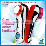 HOT! 2015 Factory price healthcare beauty equipment infrared handheld vibrating massager YK-1108