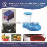 OEM Custom High Qualityl Plastic Automatic Pet Feeder Injection Mould / Plastic Dog / Cat Feeder Bowl Injection Mold supplier