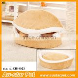 Best Selling Portable Innovative Pet Accessories Burger Shaped Pet Cat Soft Bed