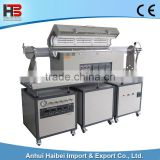 HB-TUBEF-1200C-III-SL 1200C Double tube slide RTP rapid heating furnace vacuum tube furnace
