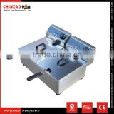 High Quality CE Certificated Double Commercial Deep Fryer For Kitchen Use