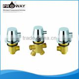 Contemporary Brass Body Bathtub Water Mixer Hot and Cold Shower Valves