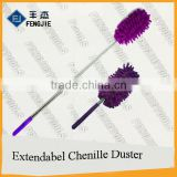 Removable Stainless Steel Extendable And Flexible Microfiber Telescopic Hand Duster