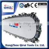 Hard nose bar/solid guide bar/chainsaw parts hard nose bar for saw chain/laser nose guide bar