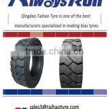 Factory bottom price good ride natural rubber non marking industrial forklift tire 600-9 700-12 8.15-15 8.25-15