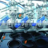 Stainless steel filling and aluminum foil sealing machine for jerry