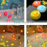 LED floating spa light for bath