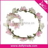 Handcraft Beach Hair Accessories Artificial Flower Headband For Beach Wedding Floral Headband