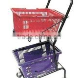 Shopping Trolley / Basket Holder / Vegetable Rack / on sales Rack /Cupboard for Bulk Cargo /Hand Cart