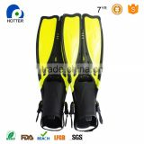 Top Grade Quality Factory Price Adult Mermaid Diving Fins yellow