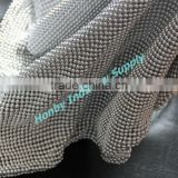 Aluminum Polished Silver 3mm Sequin Metal Mesh Cloth