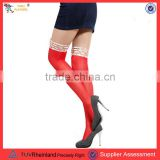 Fashion lace top stocking nylons stockings wholesale thigh high compression stockings with cheap price PGSK-0160