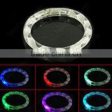Soft PVC cheap promotion bracelet Hot sale LED light up bangles party concert decoration