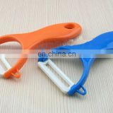 Factory wholesale ABS plastic handle zirconia ceramics fruit peel zester for kitchenware