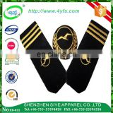 Customized hand embroidery bullion wire epaulettes