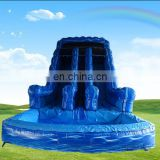 2017 trending productscustomize PVC adult giant inflatable water slide for sale
