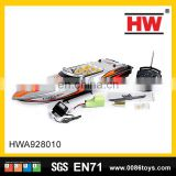 Mini 3 channel high speed rc boat for kids