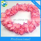 Colorful flower lei Carnival Flower Garland PVC Flower DX-JQ-00198
