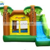 2015 Popular inflatable bouncers/ giant inflatable bouncy castle with slide/inflatable slide with pool