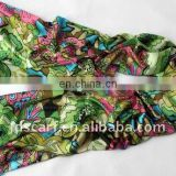 fashion printed scarves and shawls with silk touching. JDY-060 col.A02#
