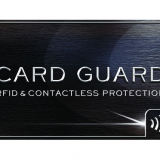 Perfect Choice RFID Blocking Card Without Battery, Shielding Card, Card Guard Protection Bank Card