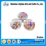 Silver plated custom metal rare british india coins