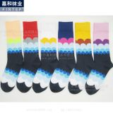 cotton colorful socks casual men socks factory in China