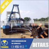 small cutter suction dredger mining machinery diesel power for sale
