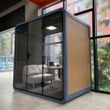 soundproof booth for office meeting room