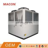 130kw EVI  air to water heat pump for low temp. area used for house heating and hot water
