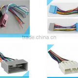 Adapter automotive car male and female iso audio wiring harness suitable for JVC PIONEER