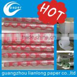 thin printing paper hot sale souvenir custom rolling gift wrapping paper set crumpled paper size