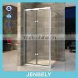 With frame bi-fold square shower bathroom                                                                         Quality Choice