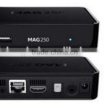 hot sale mag250 linux iptv set top box mag 250 iptv remote control