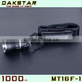 DAKSTAR 2013 New Arrival MT16F-1 CREE XML T6 1000LM 18650/26650 Gift Box Multifunction Rechargeable Headlamp Bike Light LED