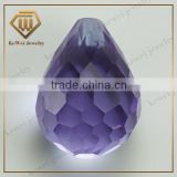 Hot sale gems wholesale price glass gemstone for rough dimond