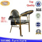 Hot sale high quality different colors factory metal muslim prayer chair in hotel chairs