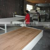 3.0mm linyi poplar core glossy polyester plywood for furniture, phenolic resin polyeter board for india