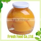 Wholesale china canned peaches in a jar
