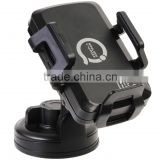 Universal Qi Wireless Car Charger Phone Stand suction mount Dashboard or Vent