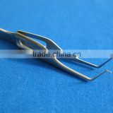 "2 O.R GRADE BOTVIN IRIS COLIBRI OPHTHALMIC FORCEPS 1X2T 3"" SURGICAL INSTRUMENTS"