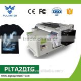 Digital T shirt printing machine a2,a2 t shirt uv printer,a2 textile uv printer for sale