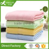 Eco-friendly super soft thin bamboo fiber beach towels