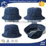 Guangzhou Promotional high quality custom blank jean bucket hat