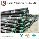 Manufacturer steel pipe n80 casing and casing oil and gas carbon steel pipe with SGS approved