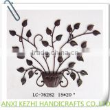 LC-76282 Wrought Metal Iron Tree Art Restaurant Decoration Wall Hanging