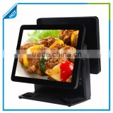 (Gc066) Double touch screen pos system retail pos system with MSR android ordering pos system