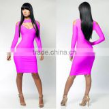 2014 new arrival pink cocktail dress