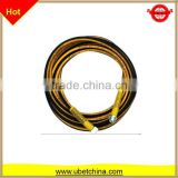 DN 8 SAE 100 R1AT with nylon surface water line for cleaning machine high pressure steel braided rubber hose price